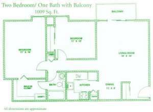 floorplan-2bed-1bath-balcony-1009sqft